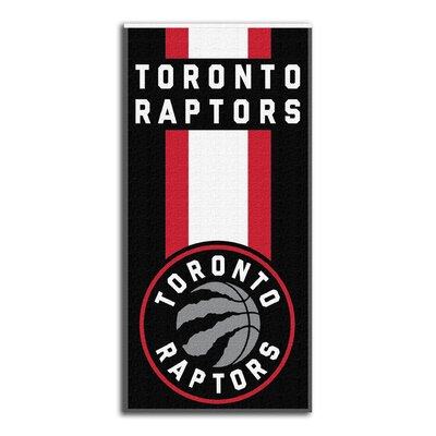 NBA Zone Read Beach Towel NBA Team: Raptors