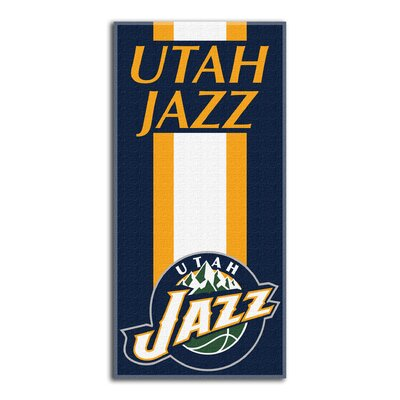 NBA Zone Read Beach Towel NBA Team: Jazz