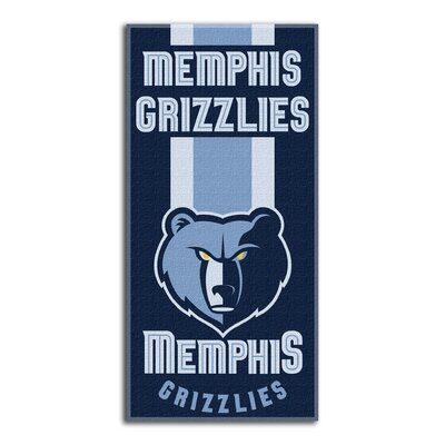 NBA Zone Read Beach Towel NBA Team: Grizzlies