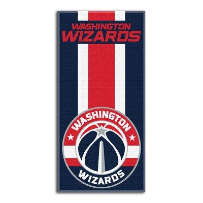 NBA Zone Read Beach Towel NBA Team: Wizards