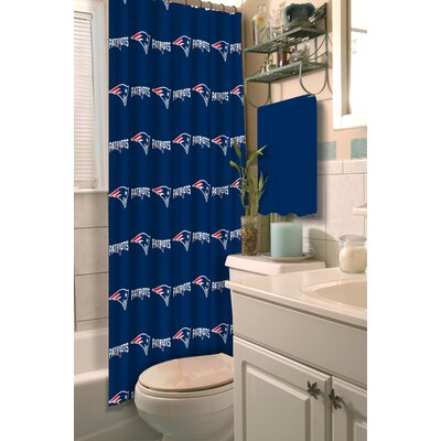 NFL Shower Curtain NFL Team: Patriots