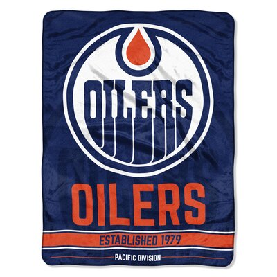NHL Zone Read Beach Towel NHL Team: Oilers