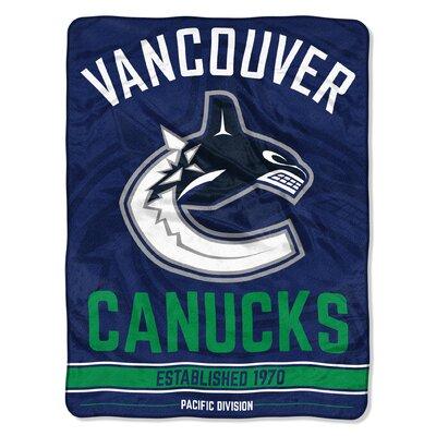 NHL Zone Read Beach Towel NHL Team: Canucks