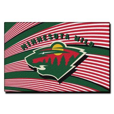 NHL Minnesota Wild Novelty Rug