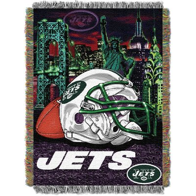 NFL New York Jets Tapestry Throw