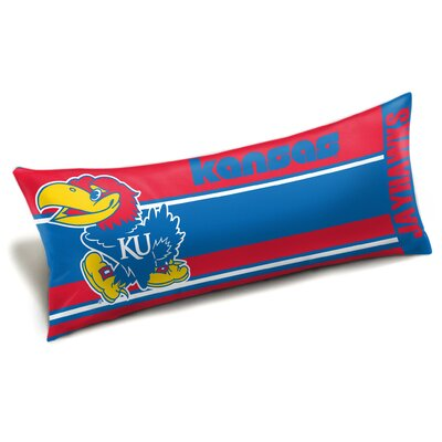 NCAA Seal Bed Rest Pillow NCAA Team: University of Kansas