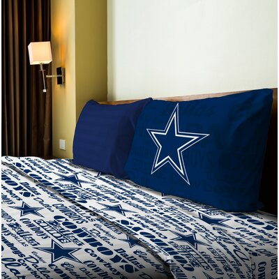 NFL Anthem Sheet Set Size: Twin, NFL Team: Cowboys