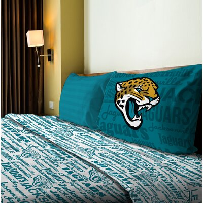 NFL Anthem Sheet Set Size: Full, NFL Team: Jaguars