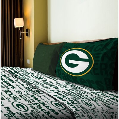 NFL Anthem Sheet Set Size: Full, NFL Team: Packers