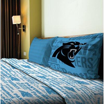 NFL Anthem Sheet Set Size: Full, NFL Team: Panthers