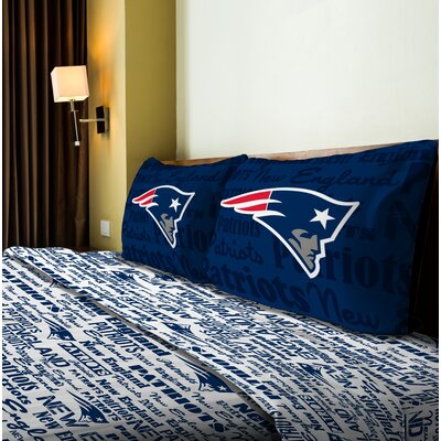 NFL Anthem Sheet Set Size: Twin, NFL Team: Patriots