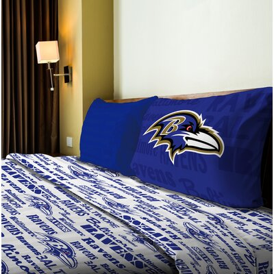 NFL Anthem Sheet Set Size: Full, NFL Team: Ravens