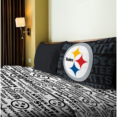 NFL Anthem Sheet Set Size: Twin, NFL Team: Steelers
