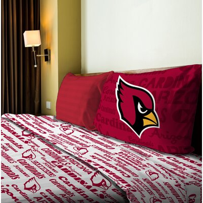 NFL Anthem Sheet Set Size: Twin, NFL Team: Cardinals