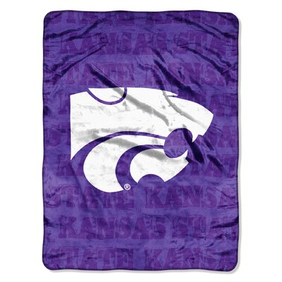 Northwest Co. NCAA Kansas State Micro Raschel Polyester Throw Blanket at Sears.com