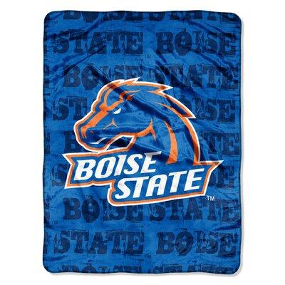 College NCAA Boise State Micro Raschel Throw Blanket