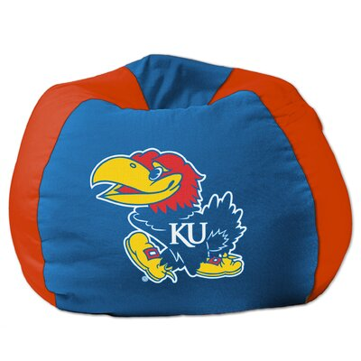College Bean Bag Chair NCAA Team: Kansas