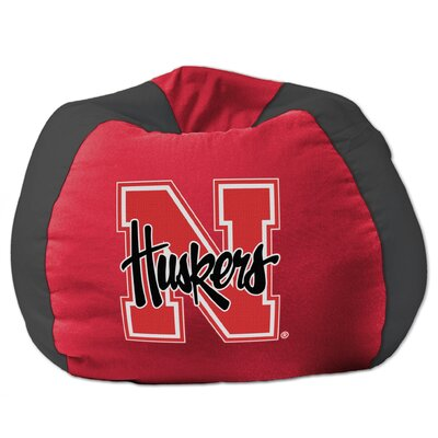 College Bean Bag Chair NCAA Team: Nebraska