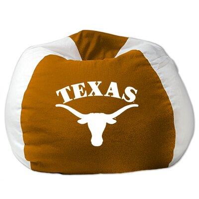 College Bean Bag Chair NCAA Team: Texas