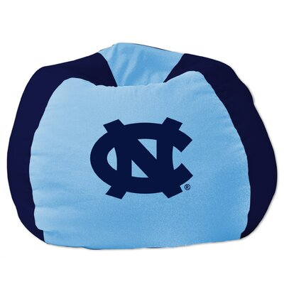 College Bean Bag Chair NCAA Team: North Carolina