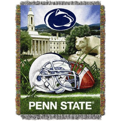 NCAA Penn State Tapestry Throw