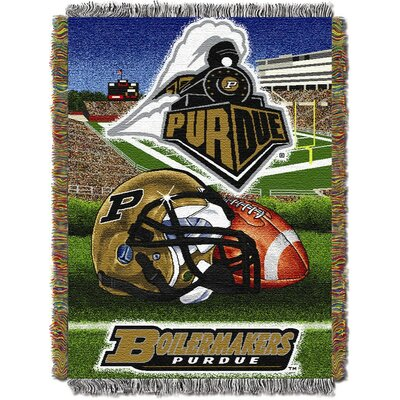 NCAA Purdue Tapestry Throw