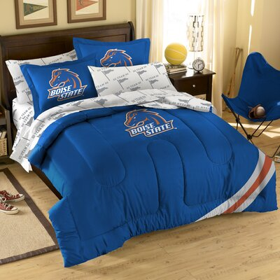 Northwest Co. College NCAA Boise State Full Comforter Set