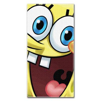 Entertainment Sponge Bob Big Smile Beach Towel