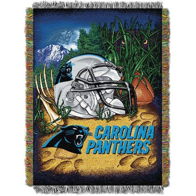 NFL Carolina Panthers Tapestry Throw