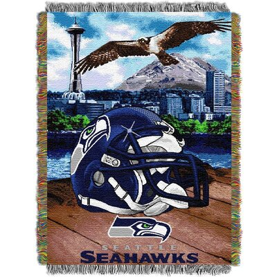 NFL Seattle Seahawks Tapestry Throw