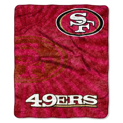 NFL San Francisco 49ers Sherpa Strobe Throw