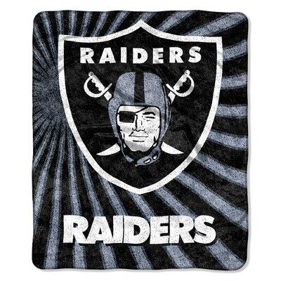 NFL Oakland Raiders Sherpa Strobe Throw