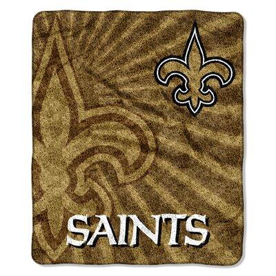 NFL New Orleans Saints Sherpa Strobe Throw