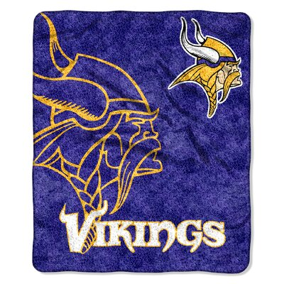 NFL Vikings Sherpa Strobe Throw