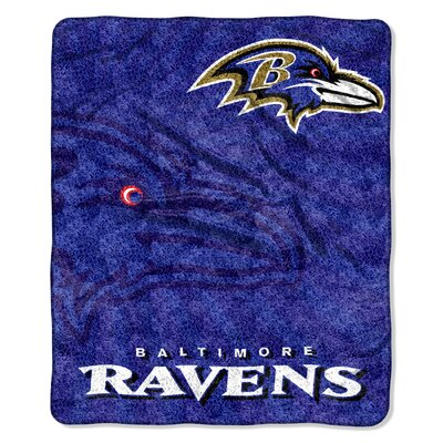 NFL Baltimore Ravens Sherpa Strobe Throw