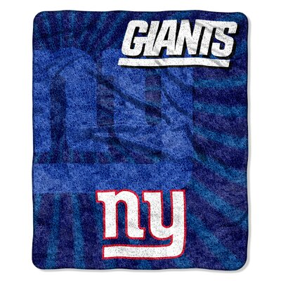 NFL New York Giants Sherpa Strobe Throw