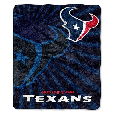 NFL Houston Texans Sherpa Strobe Throw