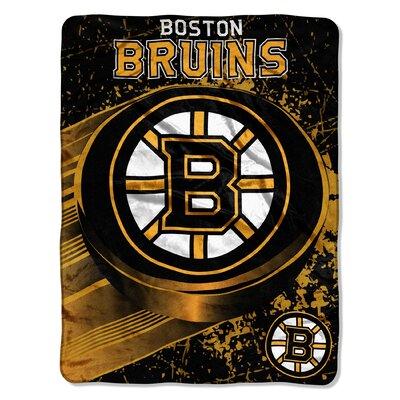 NHL Boston Bruins Micro Raschel Throw