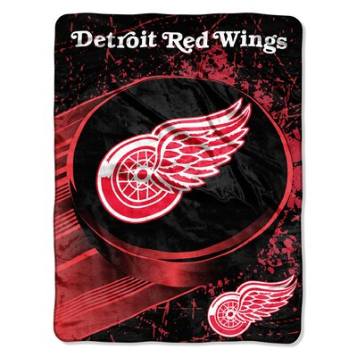 NHL Detroit Red Wings Micro Raschel Throw