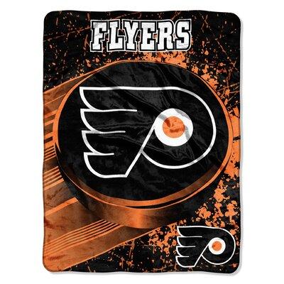 NHL Philadelphia Flyers Micro Raschel Throw