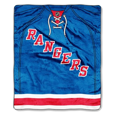 Northwest Co. NHL Puck Super Plush Throw - NHL Team: New York Rangers at Sears.com