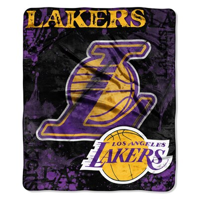 NBA Los Angeles Lakers Raschel Throw