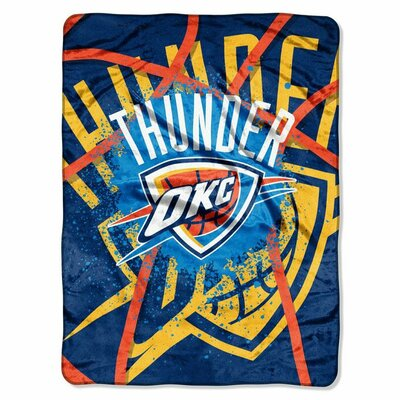 NBA Oklahoma City Thunder Plush Throw