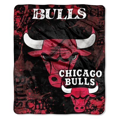 NBA Chicago Bulls Raschel Throw