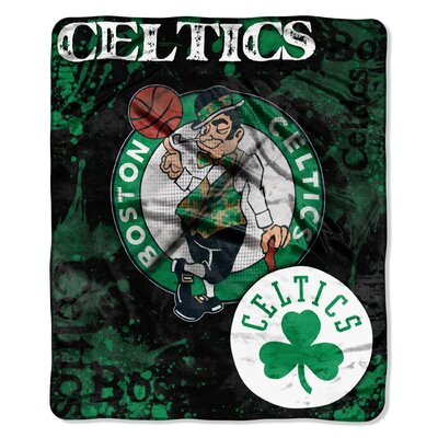 NBA Boston Celtics Raschel Throw