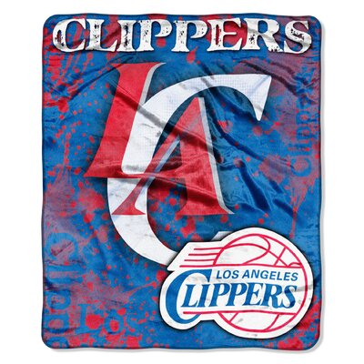 NBA Los Angeles Clippers Raschel Throw