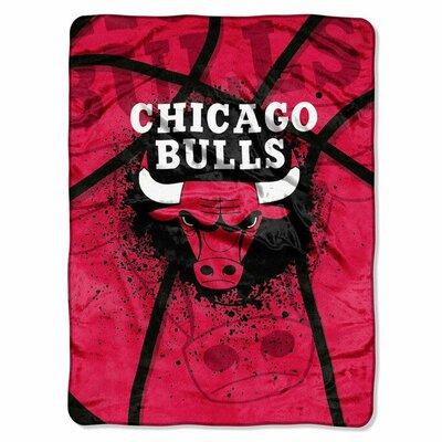 NBA Chicago Bulls Plush Throw