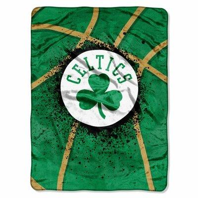 NBA Boston Celtics Plush Throw