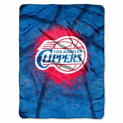 NBA Los Angeles Clippers Plush Throw