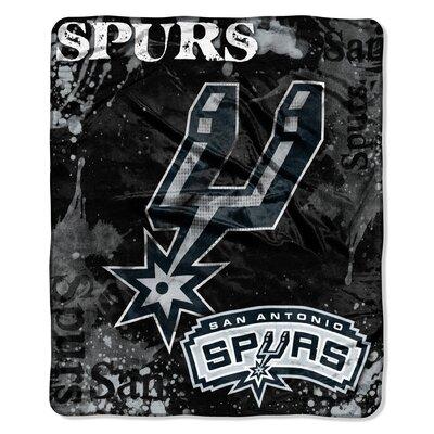 NBA San Antonio Spurs Raschel Throw